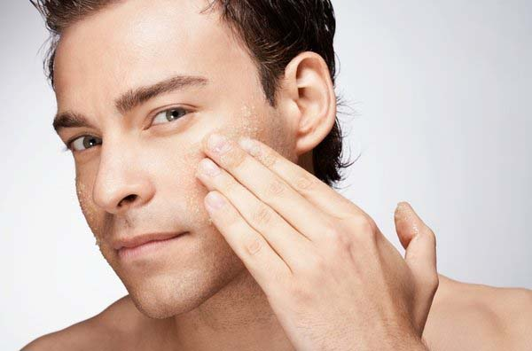 Znalezione obrazy dla zapytania face treatment men