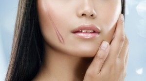 Beauty woman Face for skin care concept
